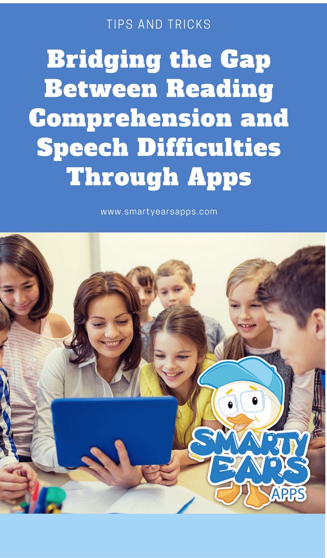 reading comprehension, language comprehension, sentence ninja, app, iPad, speech therapy, speech difficulties