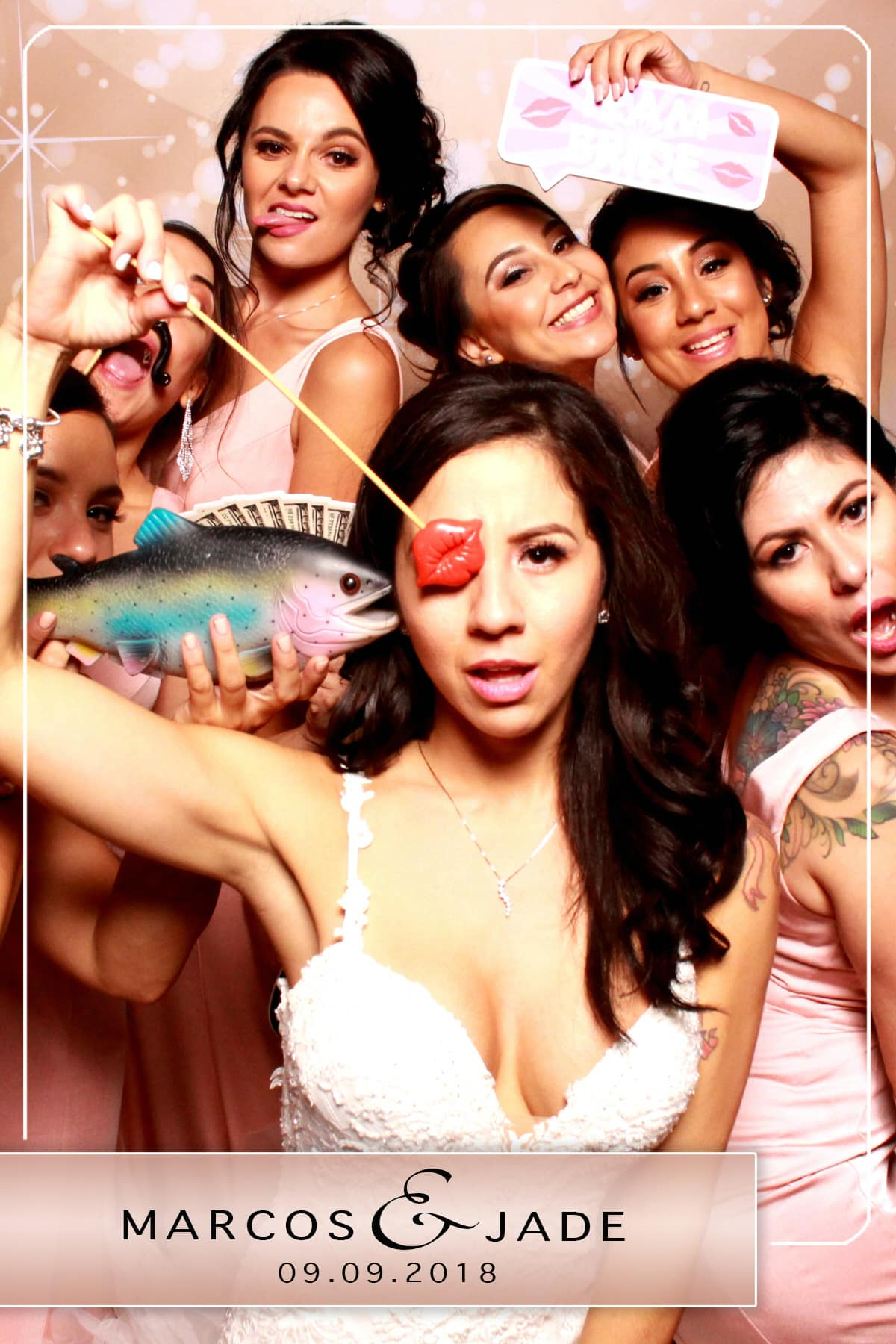 Sample Wedding Photo Booth Photo
