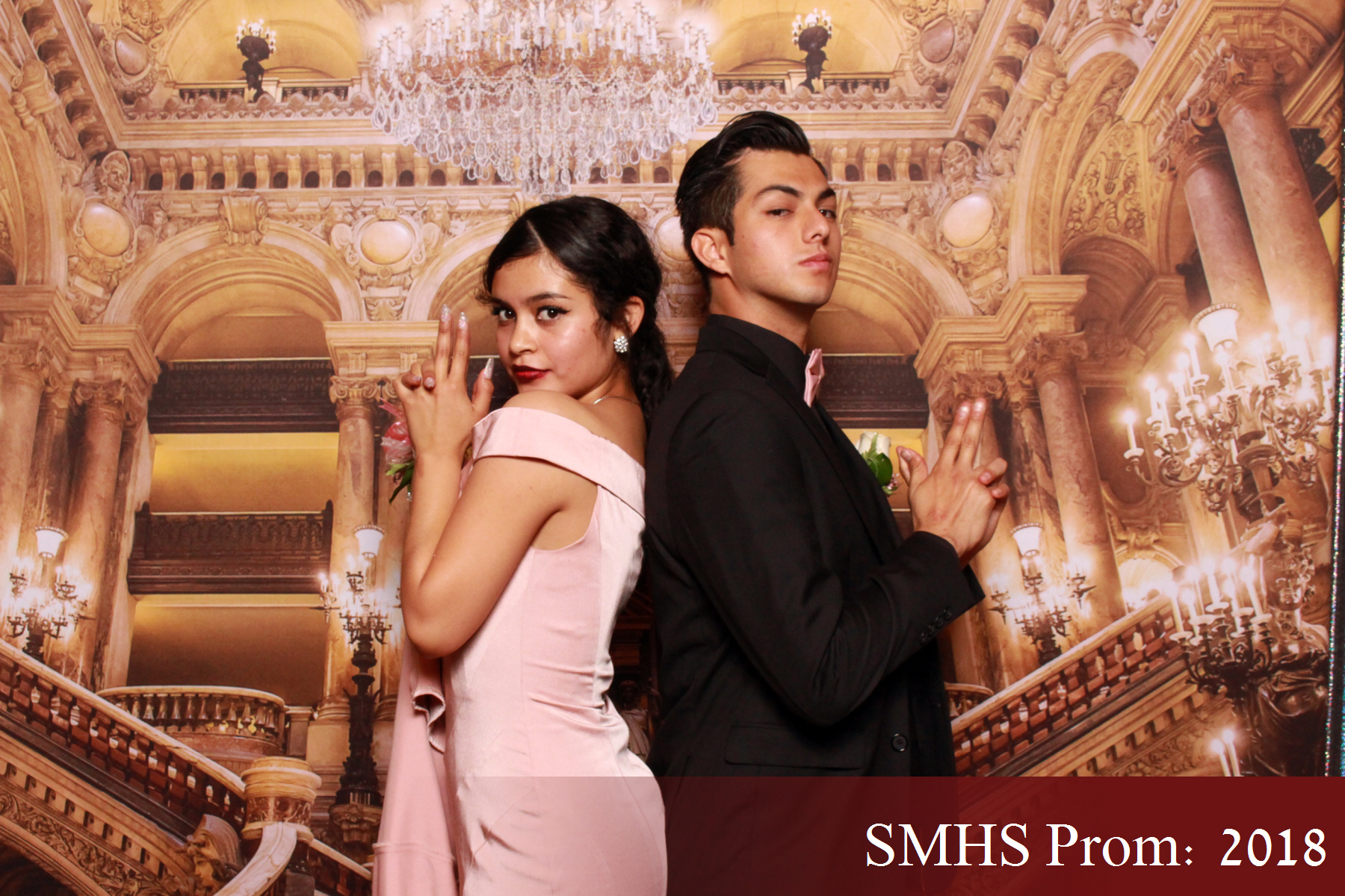 Prom Photo Booth Sample - Las Vegas