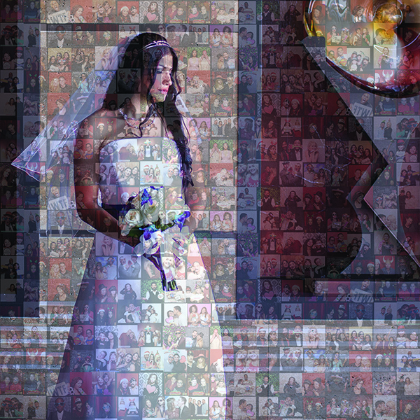 Las Vegas Mosaic Photo Wall
