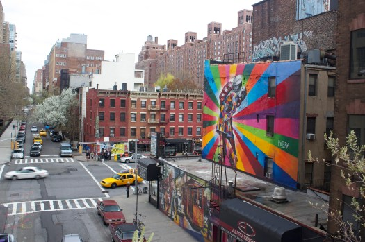 I loved this - another snap from the High Line