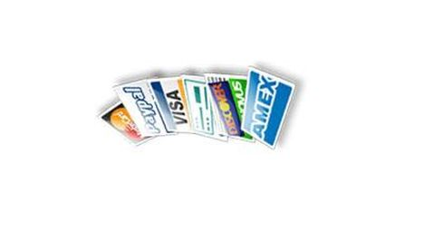 3D Credit Card Icons