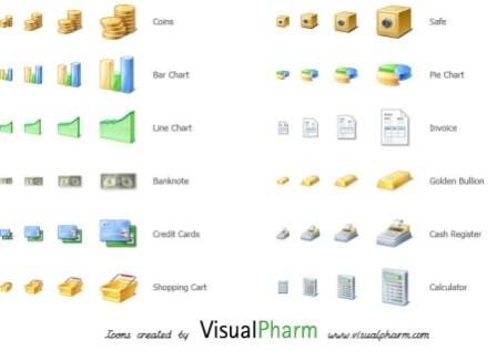 VisualPharm Finance Icons