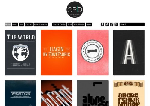 free responsive portfolio wordpress theme 06 15 Free Responsive Portfolio WordPress Theme