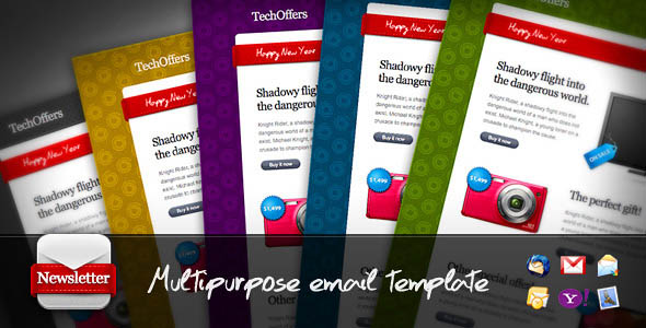 TechOffers - Multipurpose Minimalist Newsletter