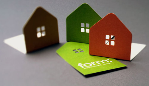 Form Architects Business Cards