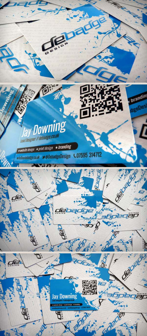qr code business cards 06 50 Inspirational QR Code Business Cards