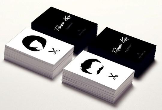 25 Hair Stylist Business Card Design Inspiration Smashfreakz