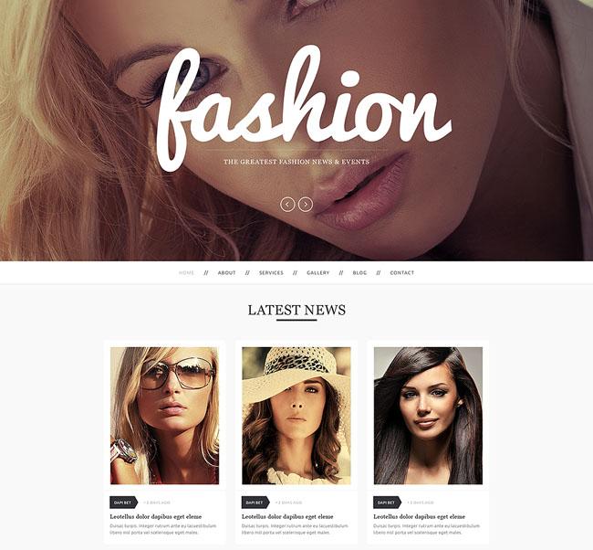 Fashion Drupal theme