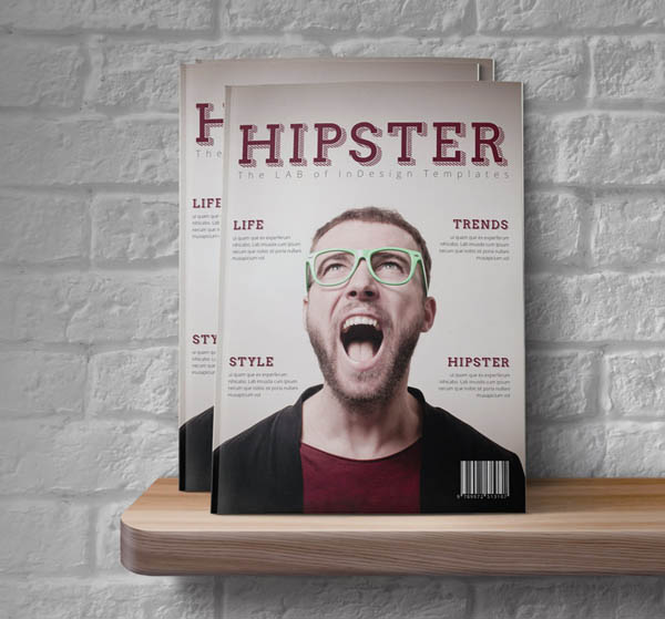 free Indesign magazine template