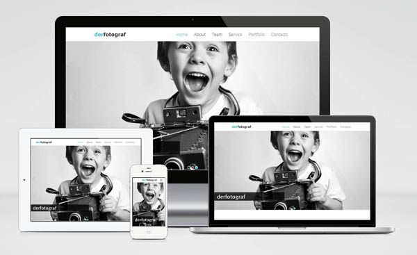 free Joomla one page template