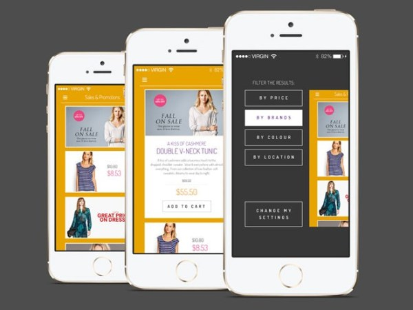 15 free mobile ecommerce ui kit you should download - Design your own mobile home online ...