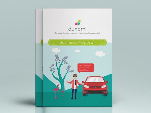 Flat Brochure Design 03