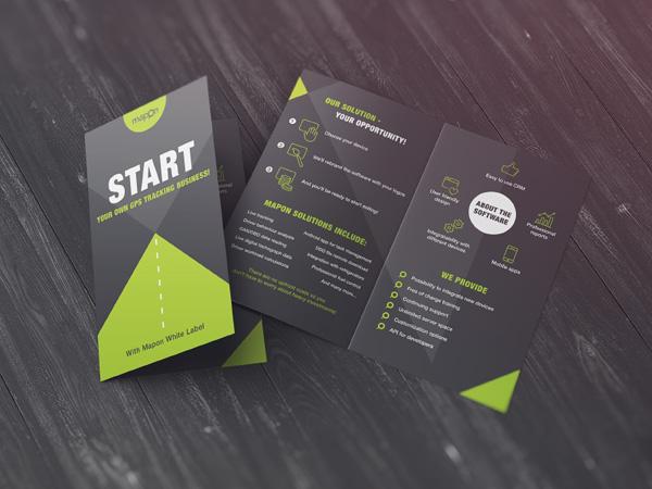 Flat Brochure Design 04