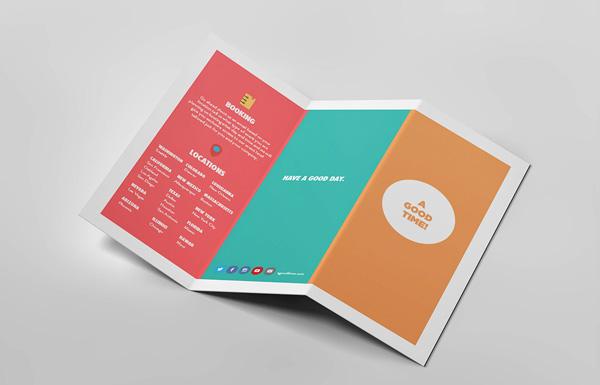 Flat Brochure Design 09