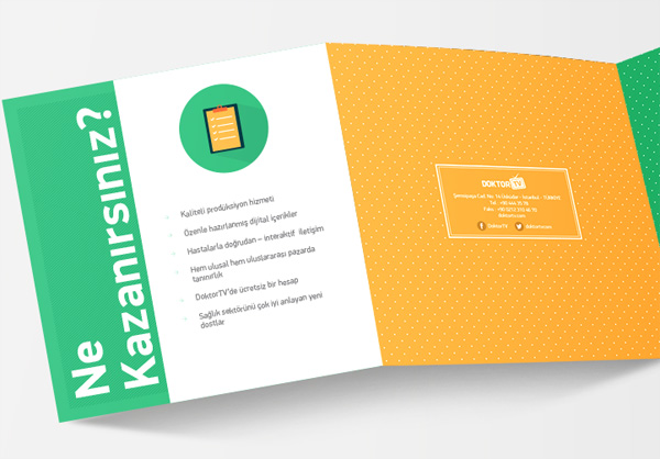 Flat Brochure Design 20