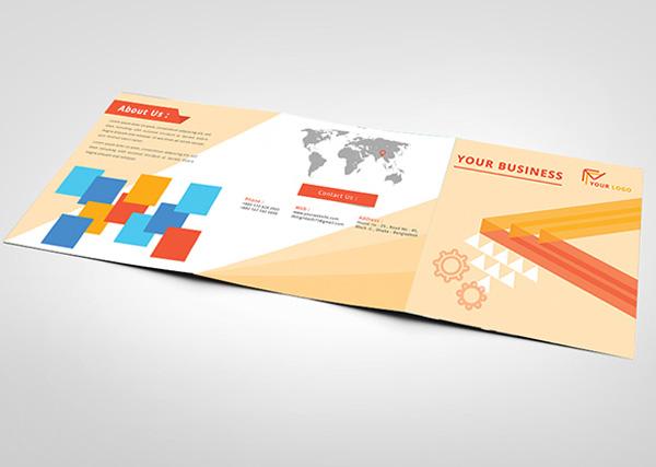 Flat Brochure Design 22