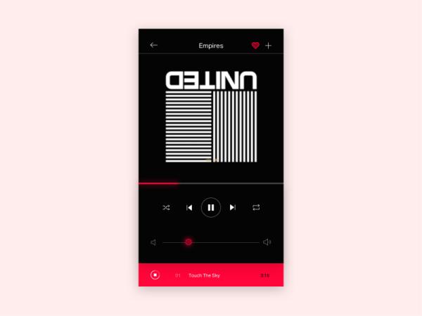 minimalist app ui 21