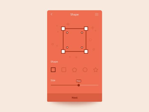 minimalist app ui 42
