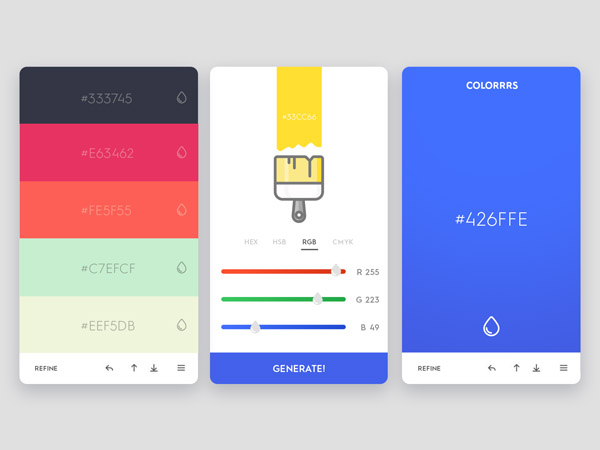 minimalist app ui 45