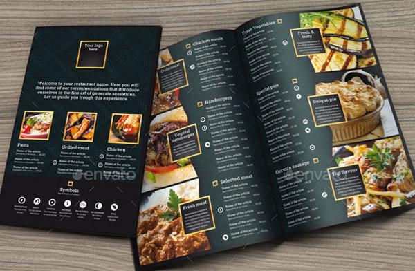 25 Tasteful Beautifully Designed Restaurant Menu Templates – Restaurant Menu Templates