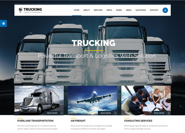 transportation Drupal themes