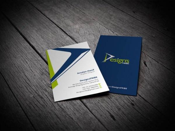 vertical business card mockup 05