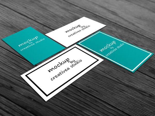 vertical business card mockup 09