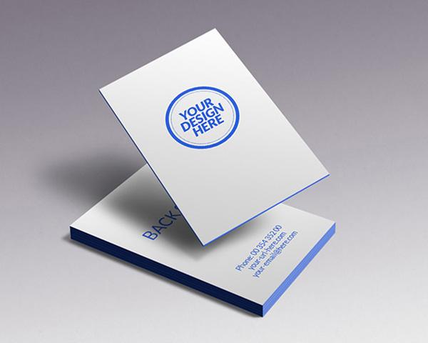 vertical business card mockup 16