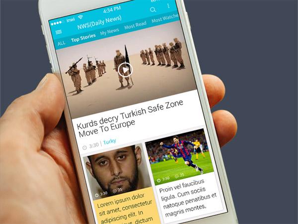 News App UI 12