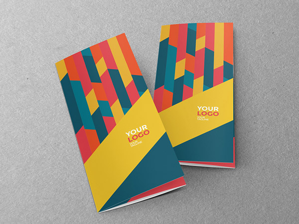 minimal brochure design 01
