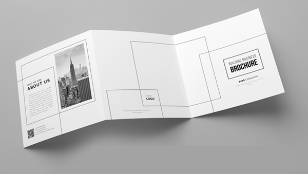 minimal brochure design 15