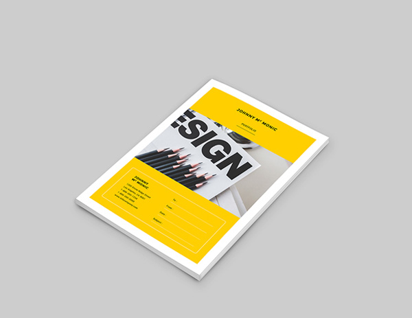 minimal brochure design 18
