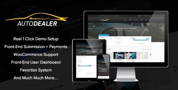 Car Dealer WordPress Theme 02