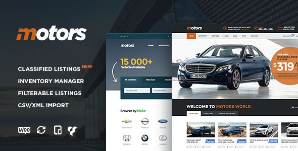 Car Dealer WordPress Theme 11