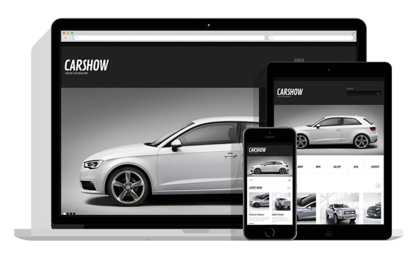 Car Dealer WordPress Theme 20