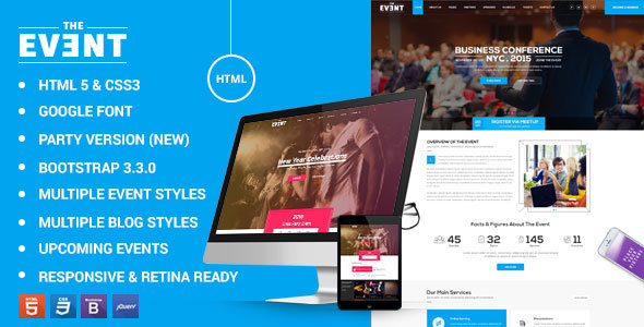 Conference Website Template 02