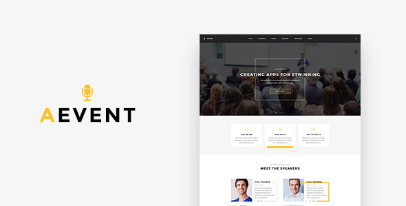 Conference Website Template 05
