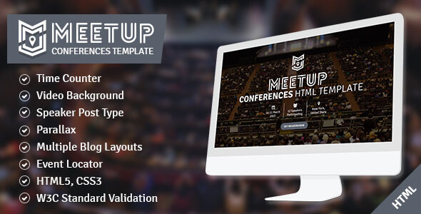 Conference Website Template 14