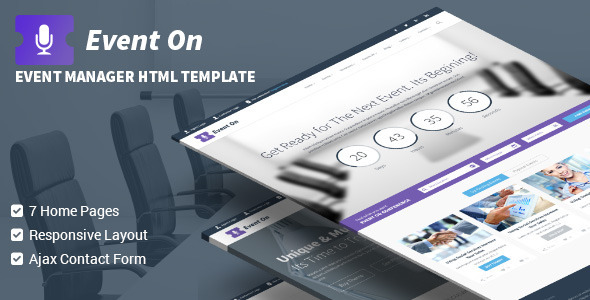 Conference Website Template 19