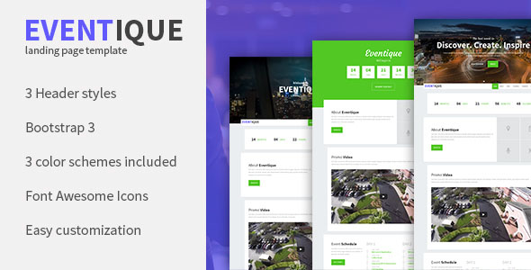 Conference Website Template 21