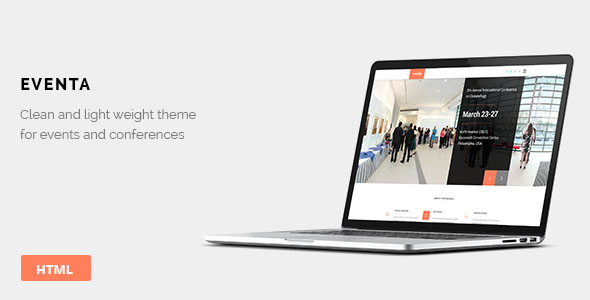 Conference Website Template 23