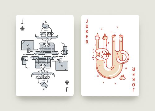 Playing Card Design 09