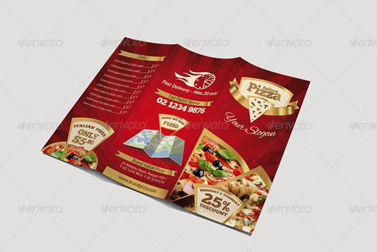 Pizza Menu Design Templates