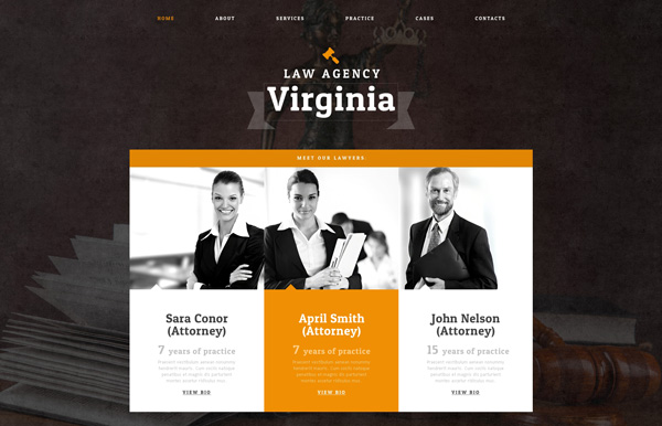 Law Firm Drupal Template
