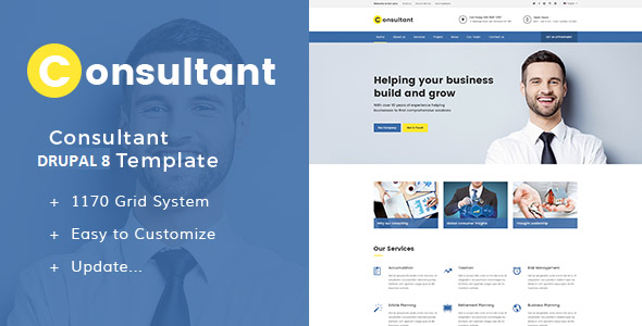 Consultant Drupal Themes