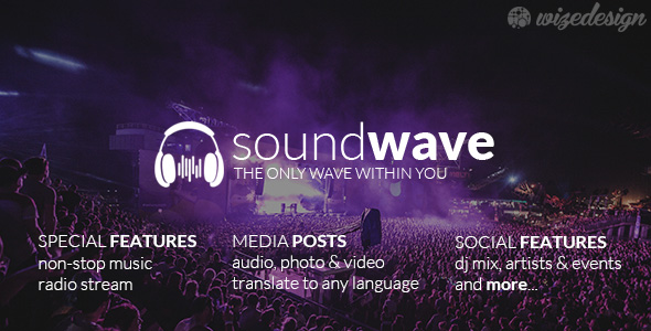 Music Streaming WordPress Themes