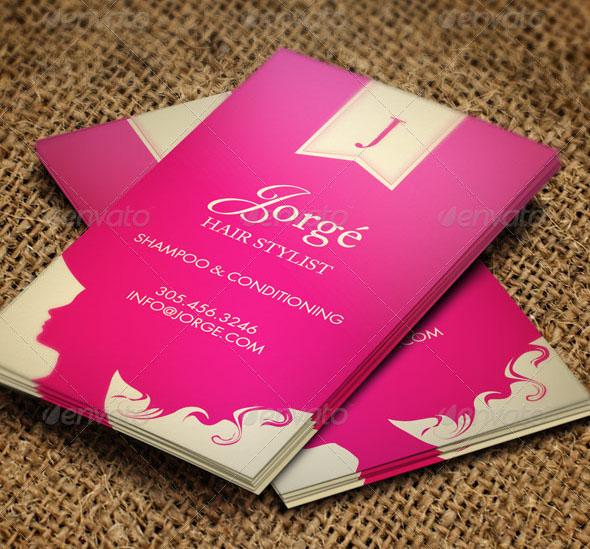 15 hair stylist business card templates for Salon business card templates