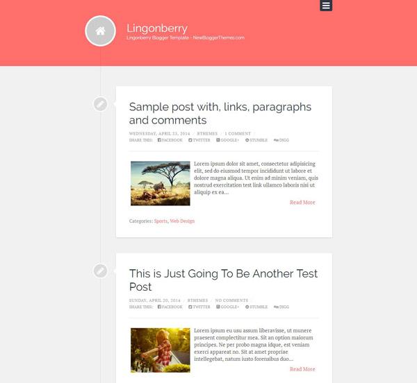 Free Timeline Blogspot Templates - Timeline blogger template