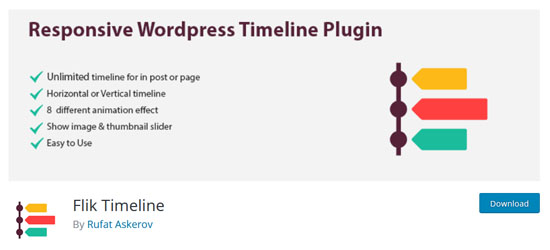 timeline wordpress plugin